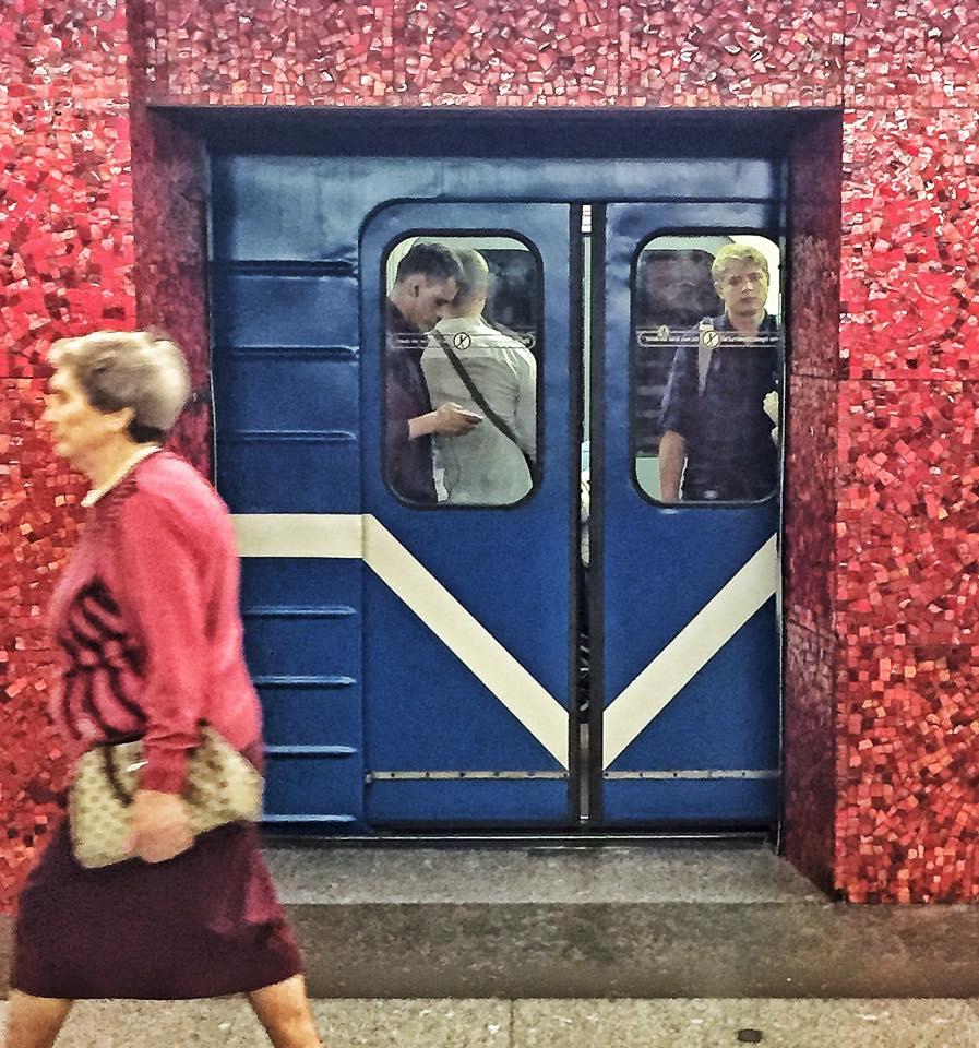 Mosaici @ Saint Petersburg subway