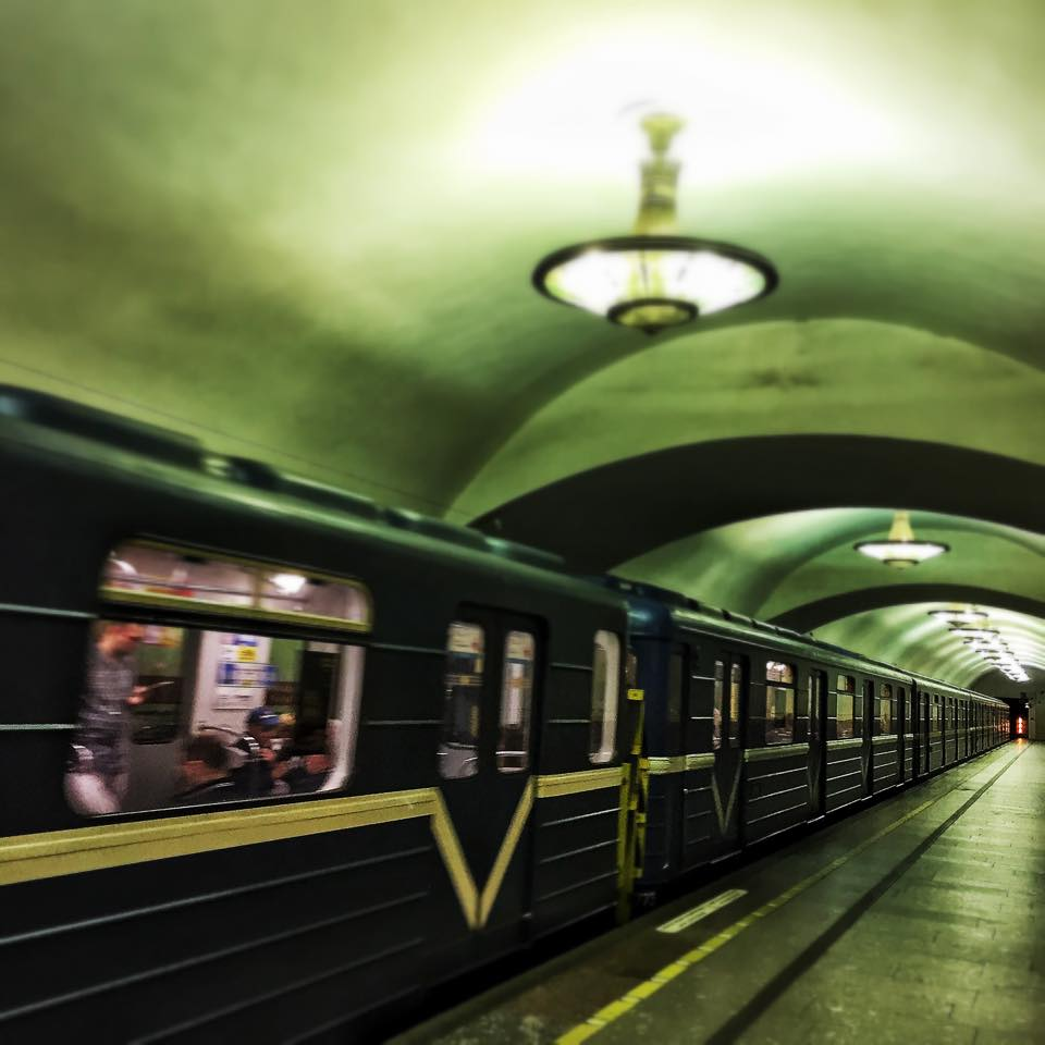 ...not a museum: Saint Petersburg subway