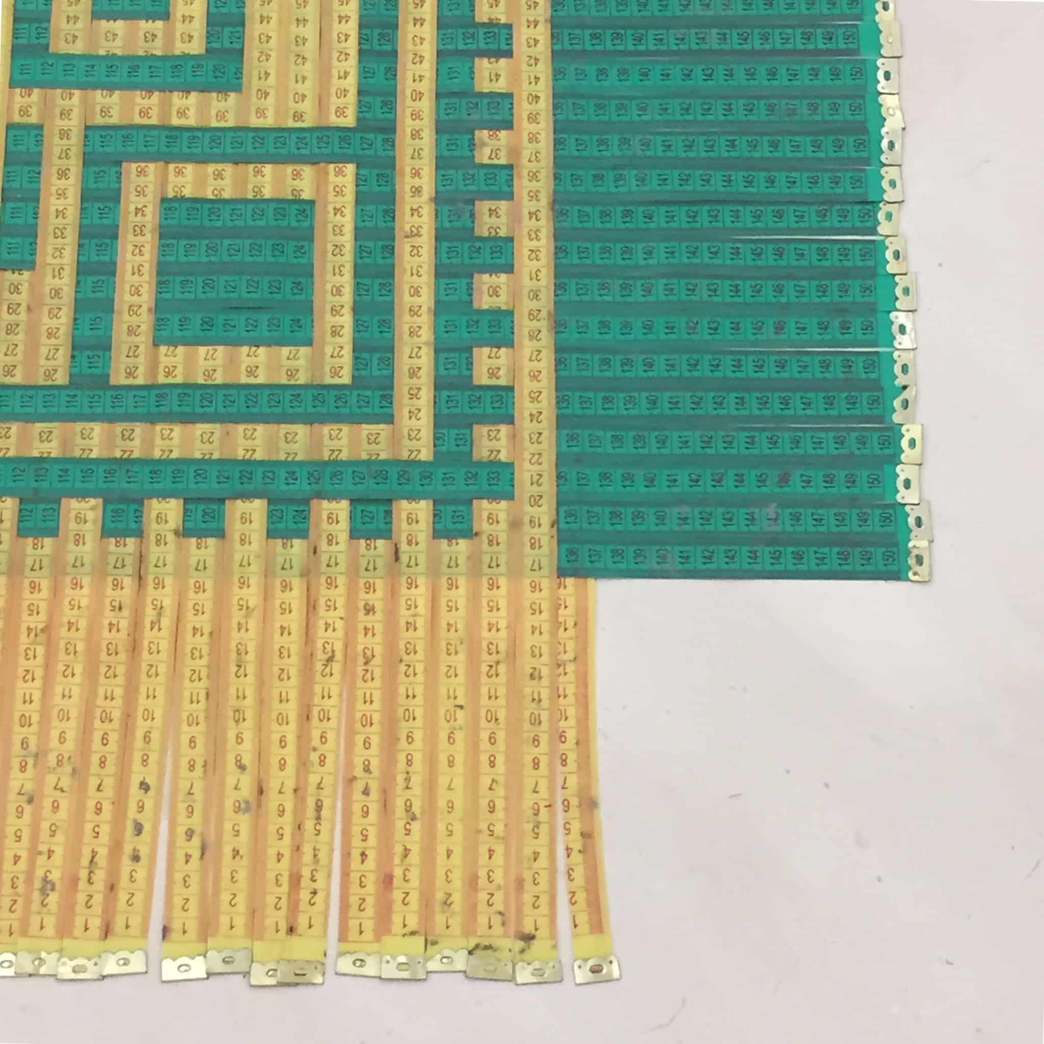 Il tappeto dei centimetri, Museo Pino Pascali
