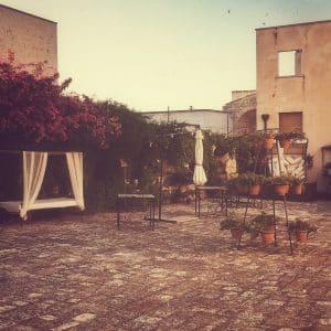 Masseria San Pietro, il cortile